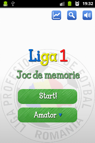 Liga 1 Romania Joc de memorie- screenshot