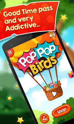 Pop Pop Birds - screenshot