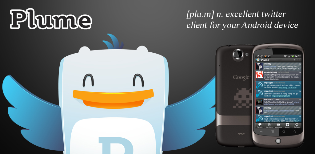 Plume Premium for Twitter 1 0 2 Apk Download - com levelup