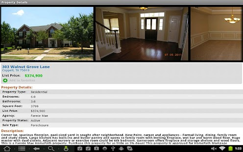 USHUD.com Property Search - screenshot thumbnail