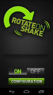 Rotate on Shake - screenshot thumbnail