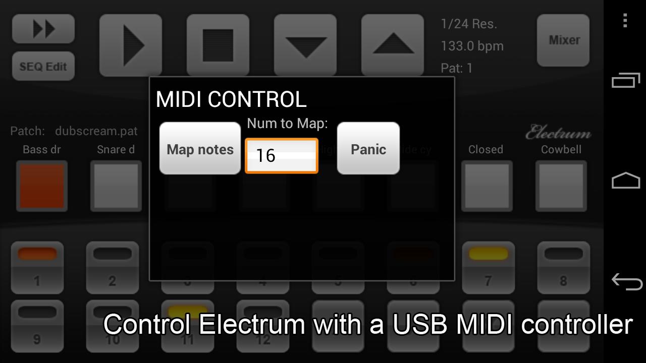 Electrum Drum Machine/Sampler screenshot #6