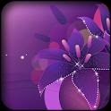 Фиолетовый 3d обои icon