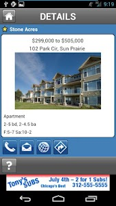 Home Search Demo screenshot 4
