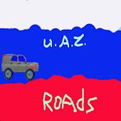 Russian UAZ route