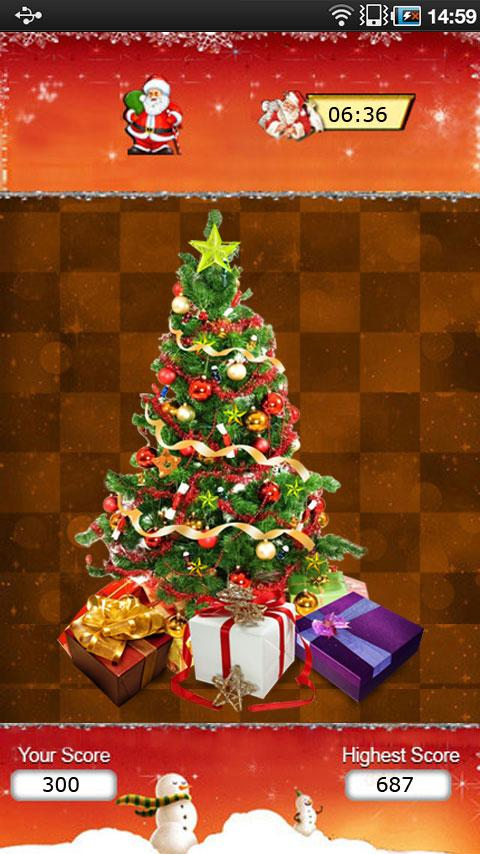 Christmas Tree Puzzle- screenshot