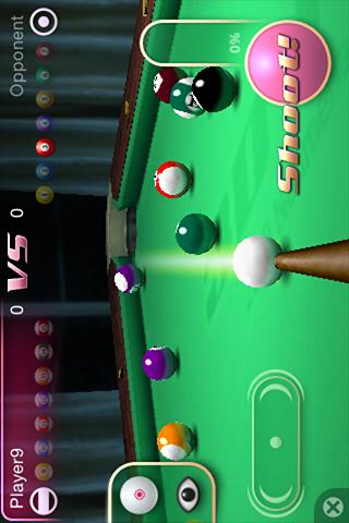 3D Pool Master - screenshot