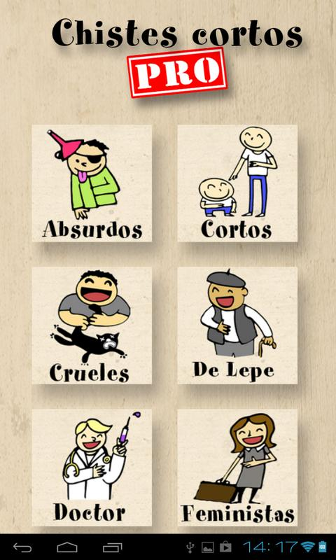 Chistes Cortos Pro Android Apps On Google Play