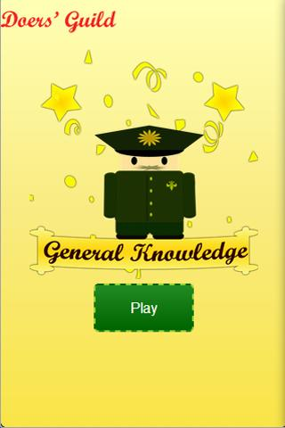General Knowitall Knowledge- screenshot