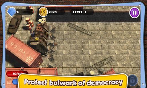 【免費動作App】奥巴马民主防御英雄-APP點子