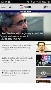 KCBD News 11 - screenshot thumbnail