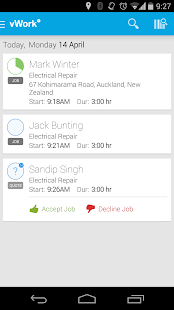 vWork - Delightfully Efficient - screenshot thumbnail