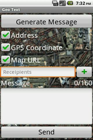 Geo Text - screenshot