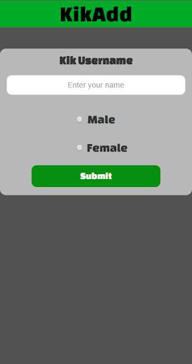 KikAdd - Kik Usernames