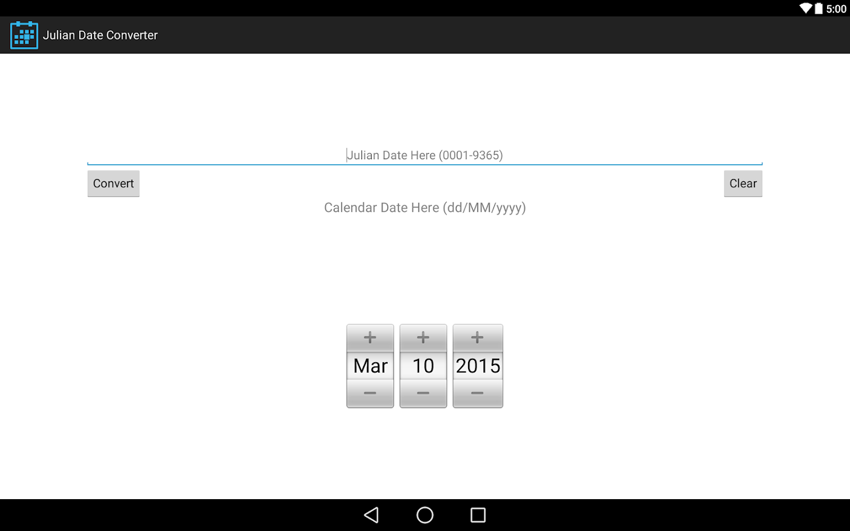Date Converter on Behance