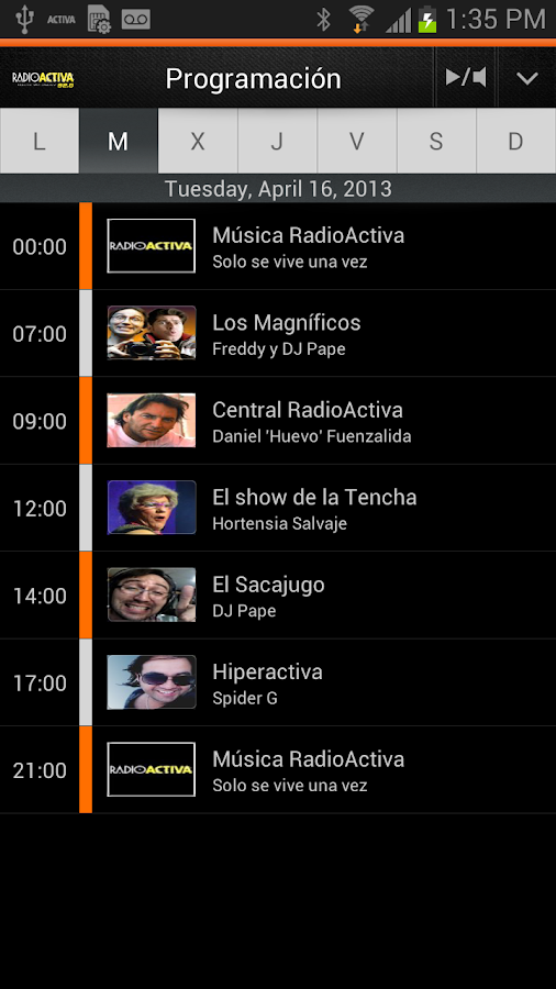 RadioActiva FM – Chile - screenshot
