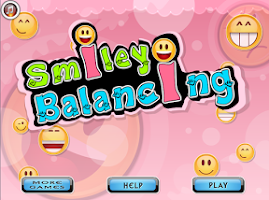 Screenshot of Smiley balancing
