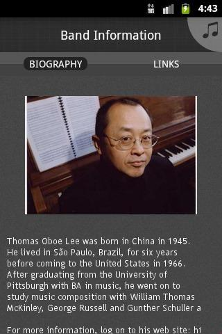 Thomas Oboe Lee - screenshot