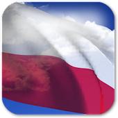 3D Poland Flag Live Wallpaper+