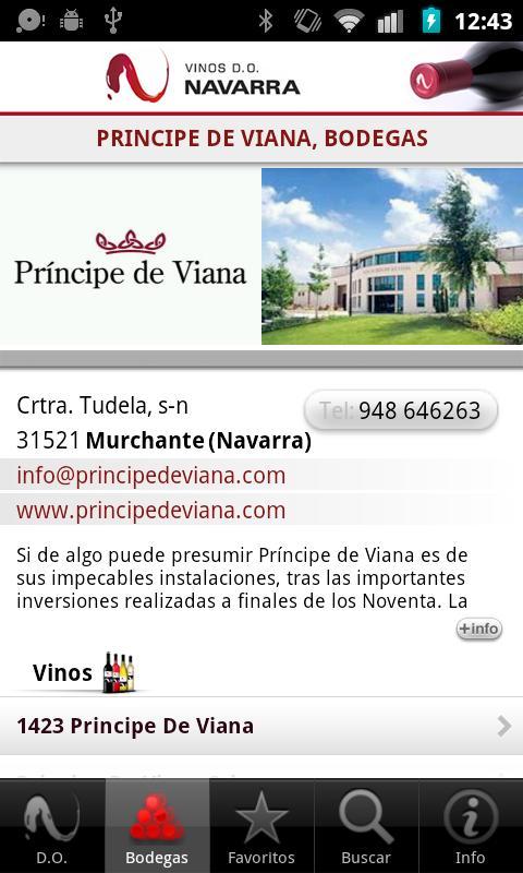 Wine Guide D.O. Navarre- screenshot