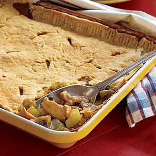 Virginia Ham- and-Chicken Pie.