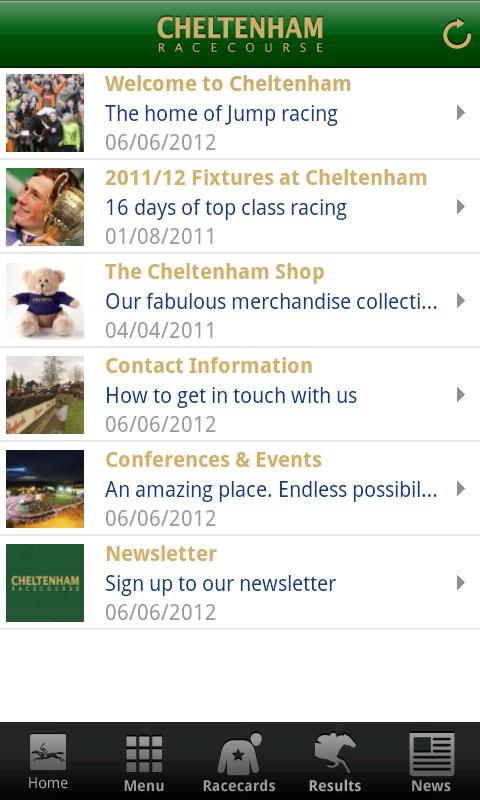 Cheltenham Racecourse- screenshot