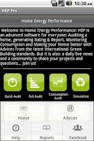 Screenshot of Home Energy Performance UK