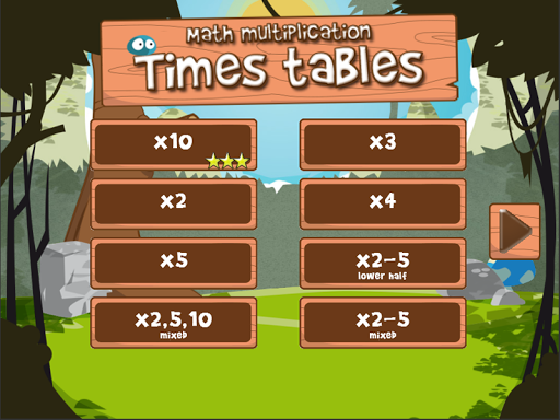 Math times tables FULL