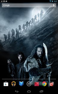 The Hobbit Live Wallpaper - screenshot thumbnail