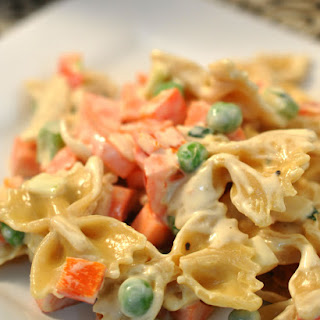 Vegetable Pasta Salad.