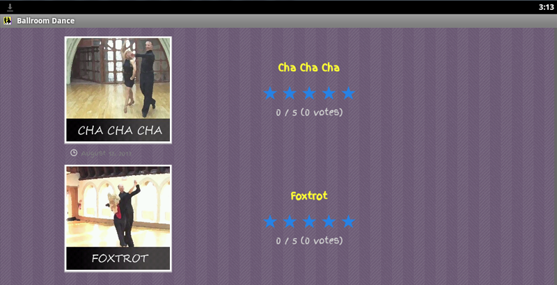 Ballroom Dance Classes - screenshot
