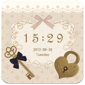 """Antique Key"" GO Locker theme"