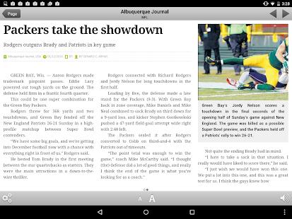 Albuquerque Journal Newspaper - screenshot thumbnail