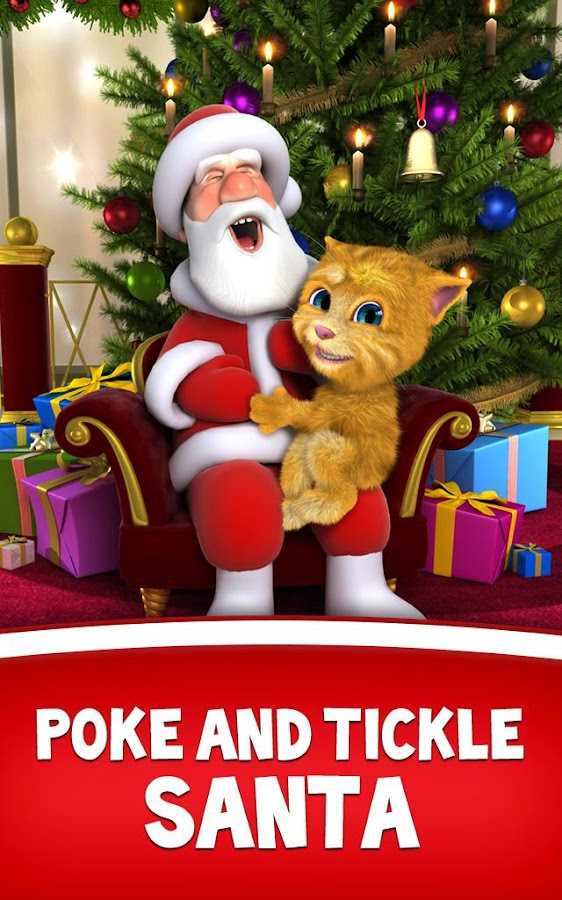Talking Santa meets Ginger - screenshot