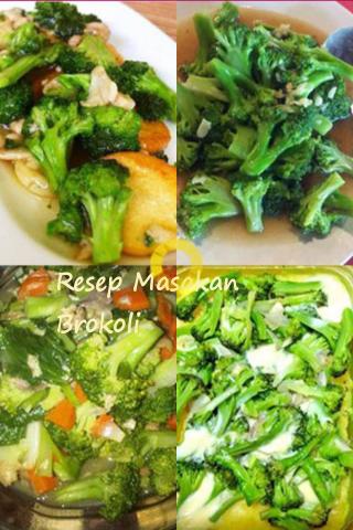 Resep Masakan Brokoli
