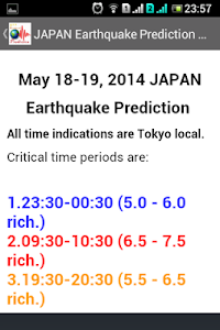 Earthquake Prediction screenshot 4