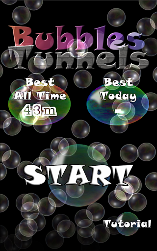 Bubbles and Tunnels