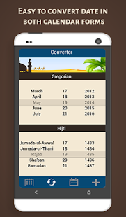Islamic Hijri Calendar- screenshot thumbnail
