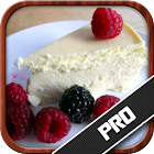 Cheesecake recipe book icon