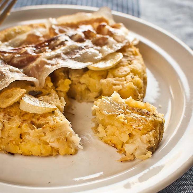 Trinxat Cabbage and Potato Cake Recipe