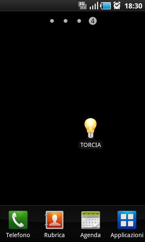 Ultra simple torch - screenshot
