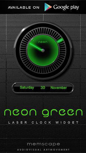 【免費生活App】Neon Green GO Launcher Theme-APP點子