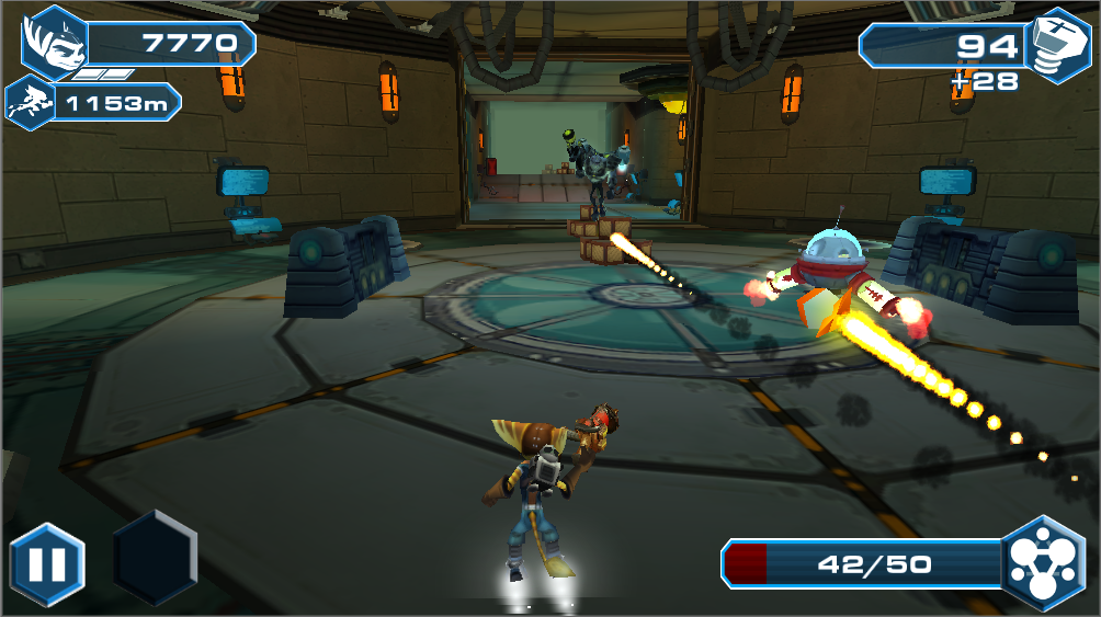 Ratchet and  Clank: BTN- screenshot