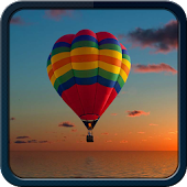 Galaxy S5 Theme Fire Balloon