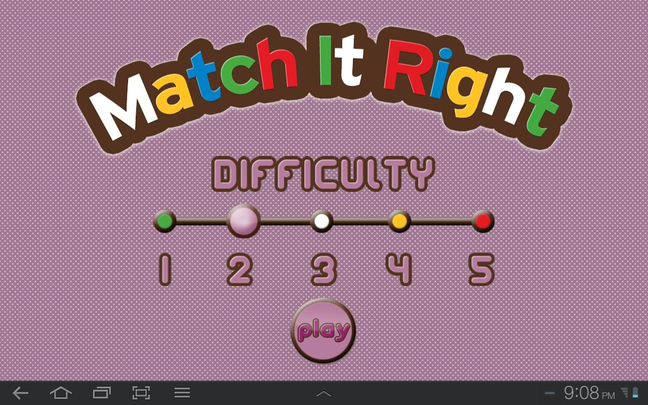 Match It Right - screenshot