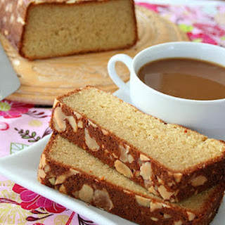 Almond Crusted Butter Cake (Low Carb and Gluten-Free).