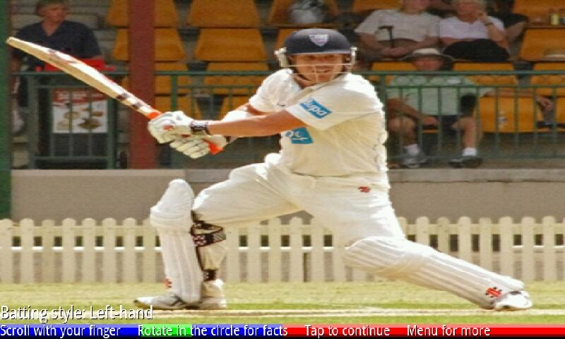 Test Cricketers of Australia 1- screenshot