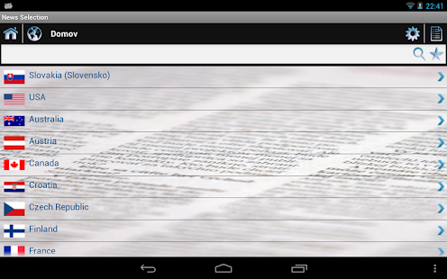 News Selection Newspapers - screenshot thumbnail