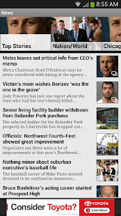 Daily Herald -Suburban Chicago - screenshot thumbnail