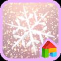 Snow Blossom Dodol Theme icon
